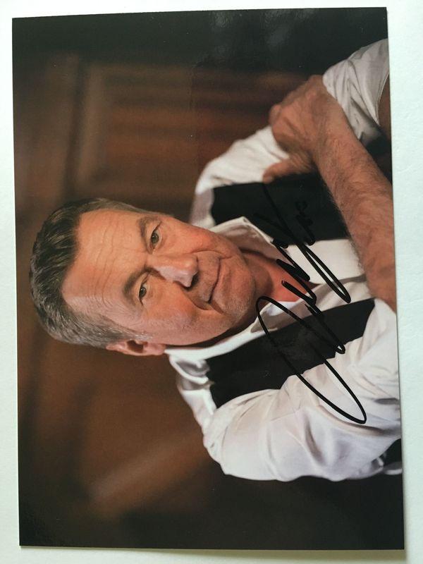 ROLAND KAISER handsignierte Autogrammkarte Alles