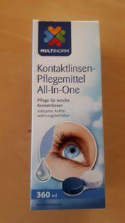 Kontaktlinsenpflegemittel für weiche Linsen - All