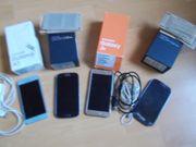 4 Samsung Galaxi Geräte S3