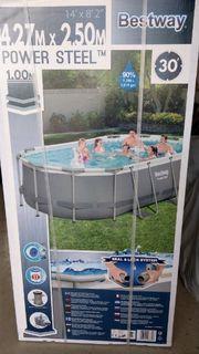 Bestway Pool oval 424 cm
