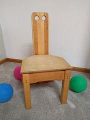 Design - Kinderstuhl aus Mischholz