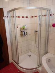 Dusch Trennwand für Eckdusche