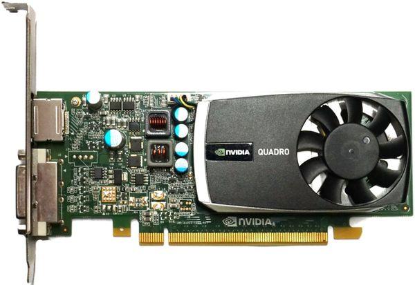 Nvidia Quadro 600 Grafikkarte 1GB