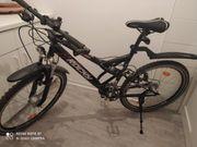 Zum Verkauf steht ein Fahrrad