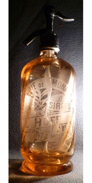 SODAFLASCHE Soda Seltzer Flasche Siphonflasche