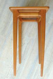 Vintage Lotos Werkkunst Tisch Beistelltisch