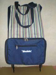Verschiedene Einkaufswagen Taschen