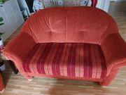 gut erhaltene Couchgarnitur 3-2-1