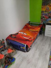 Kinder Autobett mit LED Beleuchtung
