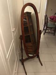 Antiker Standspiegel Ankleidespiegel Spiegel aus