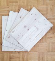 Sperrholz Naturholz Platte 3-Schicht Fichte