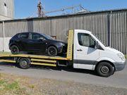 Abschleppwagen Abschleppdienst Autotransport Autoüberführung