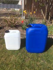Kanister 10 und 25 Liter