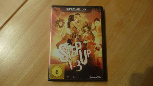 Step up 1-3 DVD Kollektion