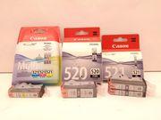 Tintenpatronen Canon 520+