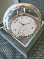 Omega Taschenuhr 800er Silber