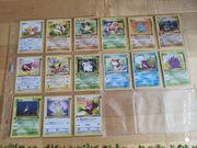 15 1st Edition Pokemon Karten