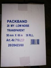 Paketband 50 mm Transparent 36