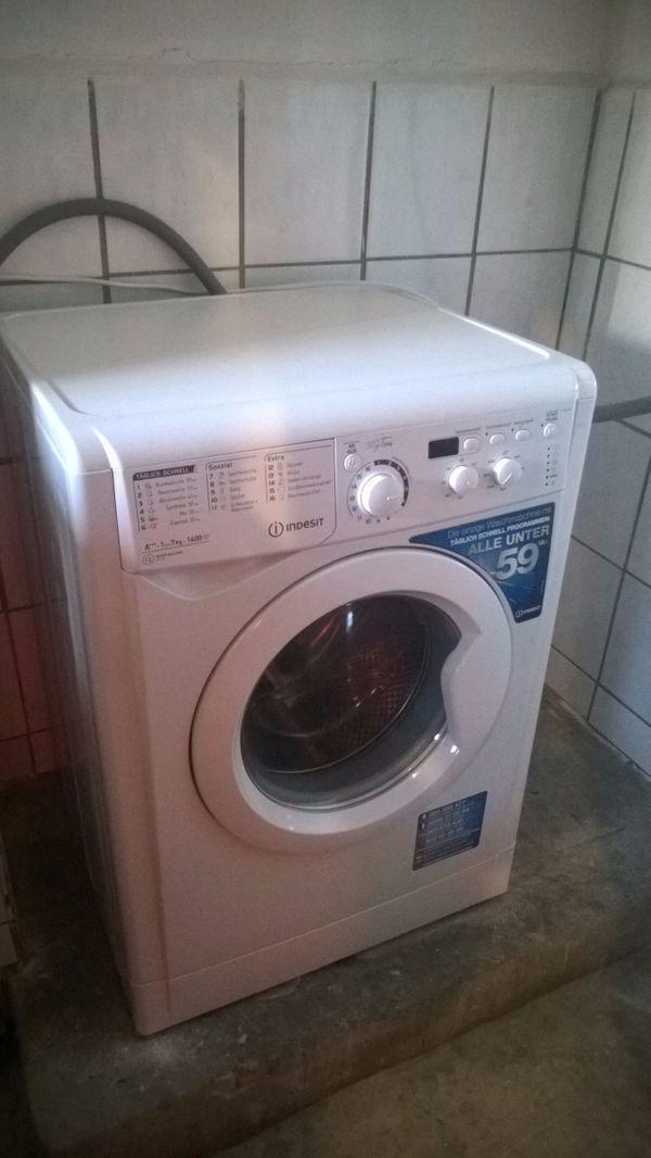 7 Kg Indesit Waschmaschine In Stuttgart Waschmaschinen Kaufen Und