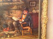 Ölbild von Nürnberger Kunstmaler Jo
