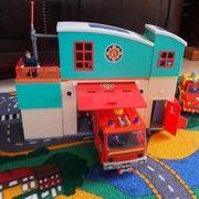 Feuerwehrmann Sam Station mit Zubehör