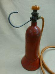 Gasflasche mit Gaslötkolben