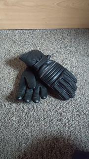 Motorrad-Handschuhe Leder Größe S