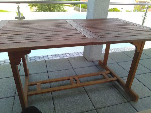 Tisch Auf Teakholz In Weihenzell Gartenmöbel Kaufen Und Verkaufen