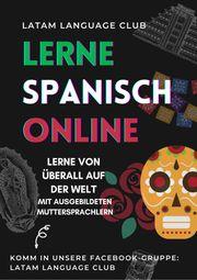 Online Spanisch-Kurs mit Muttersprachlern
