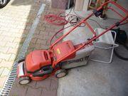 Elektrischer Rasenmäher