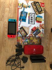 Nintendo Switch inkl Zubehör