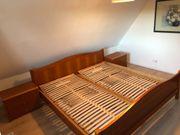 1 Bett 2x2m 2 Lattenrost