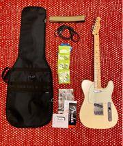 Neuwertige Fender Telecaster Mexico NP