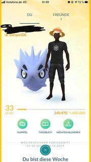 Pokemon Go Account Lvl 33