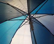 Kinder Regenschirm blau BtBj