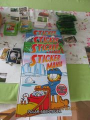 Alben Sticker sehr viel Stickers