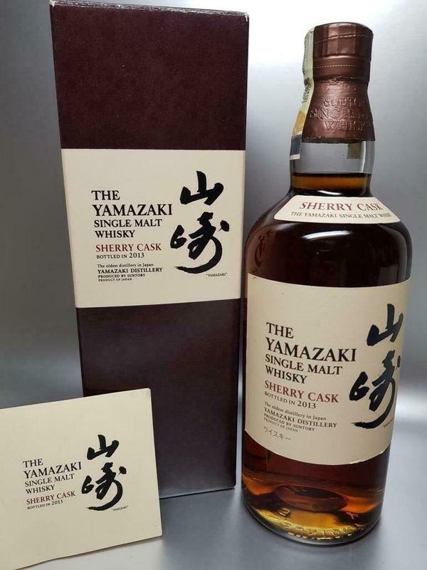 YAMAZAKI SHERRY CASK 2013 WHISKY