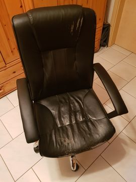 Bild 4 - Schreibtischstuhl - Bürostuhl höhenverstellbar zu verkaufen - Ispringen