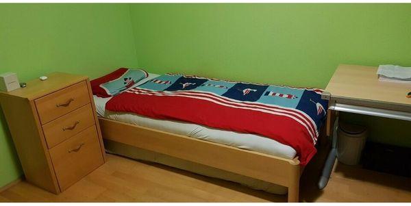 Jugendzimmer-Vollholzmöbel Hülsta sehr gut erhalten
