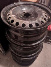 4 Stahlfelgen 205 55 R16