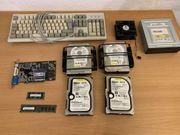Verschiedene PC-Komponenten
