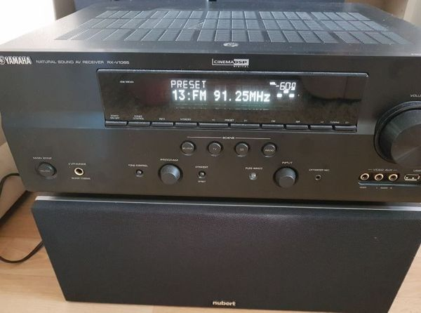 Yamaha RX-V 1065 Nubert nuBox