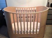 Leander Babybettchen Kinderbett - helles Holz