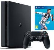 PS4 Slim 500GB Fifa19 OVP