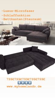 Sofa Couch L Form mit
