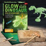 Nachtleuchtender Dinosaurier Skelett Ausgrabungsset spielzeug