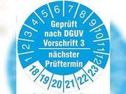Geräteprüfung Elektrogeräte Prüfung nach DGUV