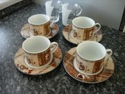 Super Kaffee-und Espressogläser