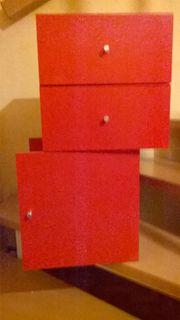 KALLAX-Einbauelemente rot gebraucht