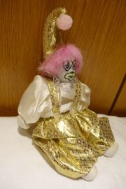 Porzellanclown Dekoclown Clown Puppe Sammelclown